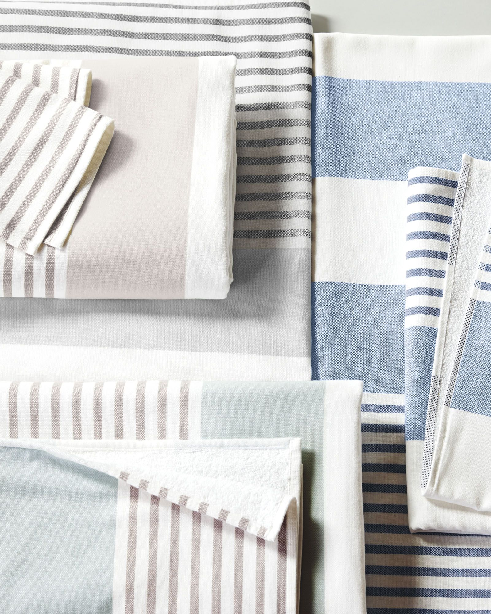 d9d6d2bcca The Fouta Bath Towels - Collection - Bathroom - Image via  serenaandlily