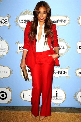 Lauren London arrives at the sixth annual ESSENCE Black Women In ...