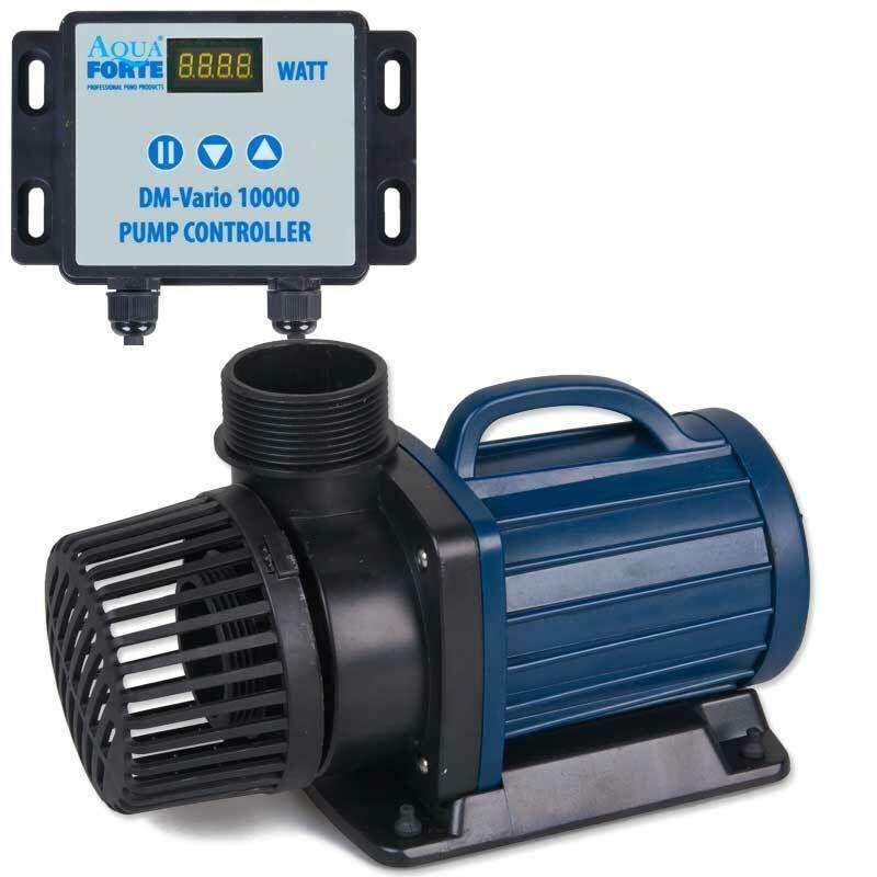Aquaforte DM Vario 10000// 20000// 30000 regelbare Teichpumpe