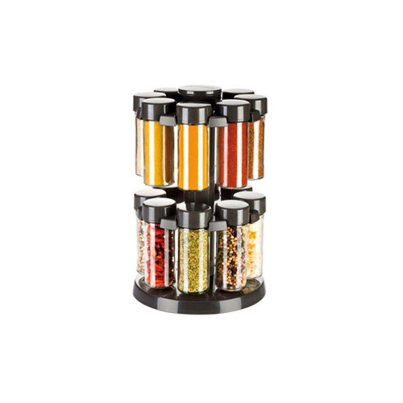 Pojemniki Na Przyprawy Obrotowy Stojak Tescoma 5269833009 Oficjalne Archiwum Allegro Spice Jars Kitchen Spice Storage Storing Spices