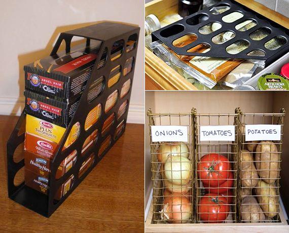 Ordnung halten mittels zeitschriftensammler in 2019 for Kuchenschranke organisieren