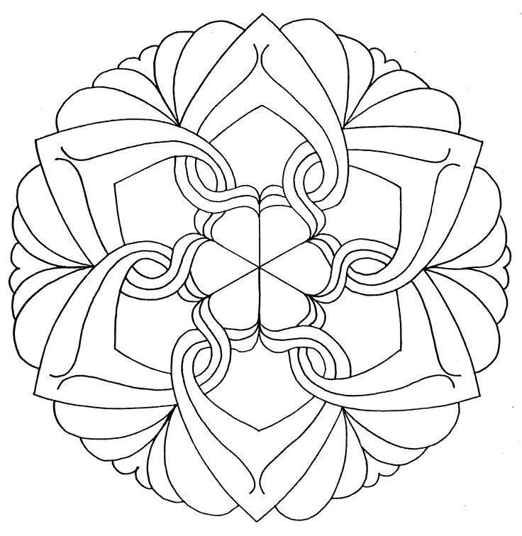 Malvorlagen Mandala Gratis