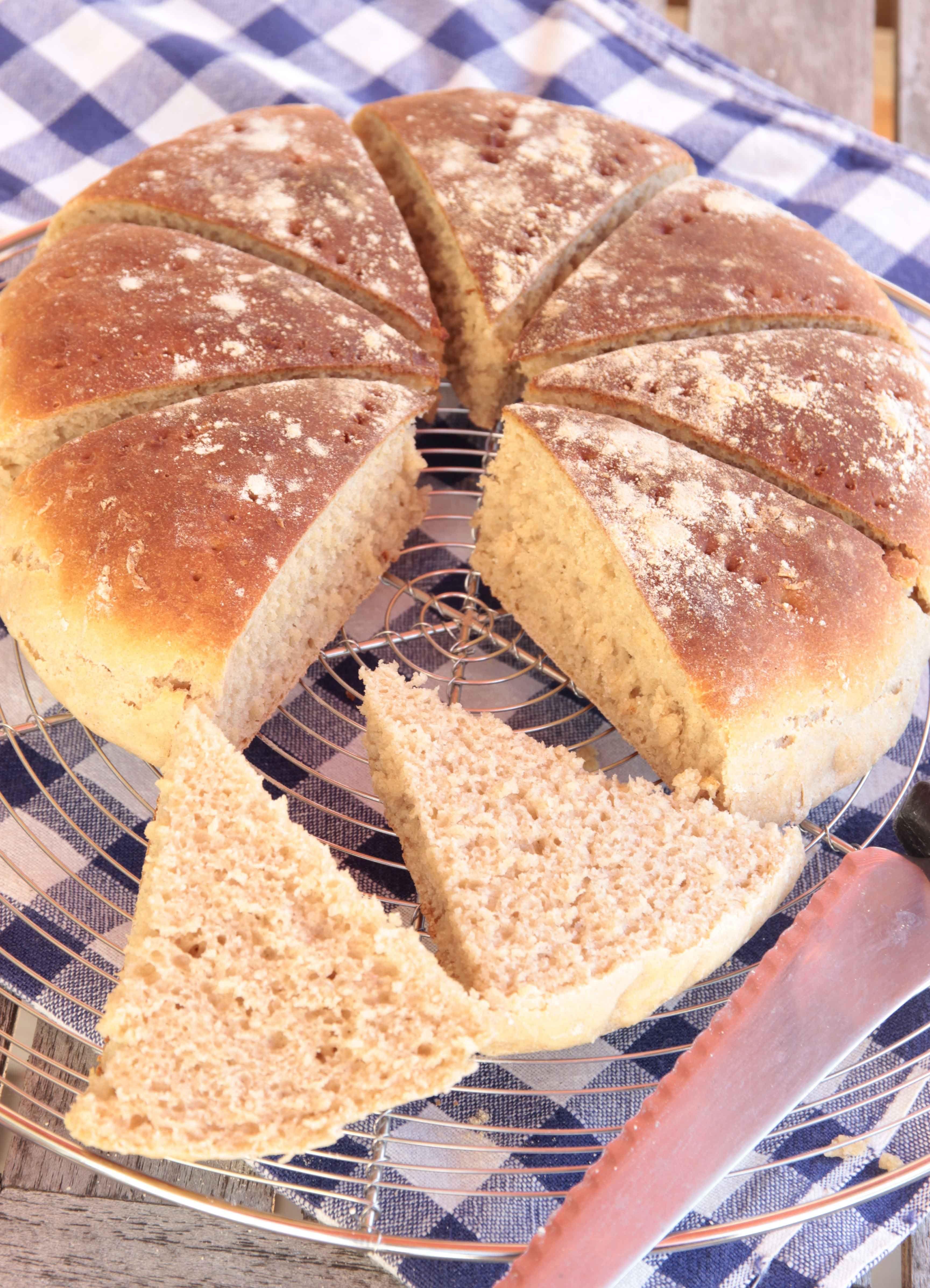 enkelt bröd i form