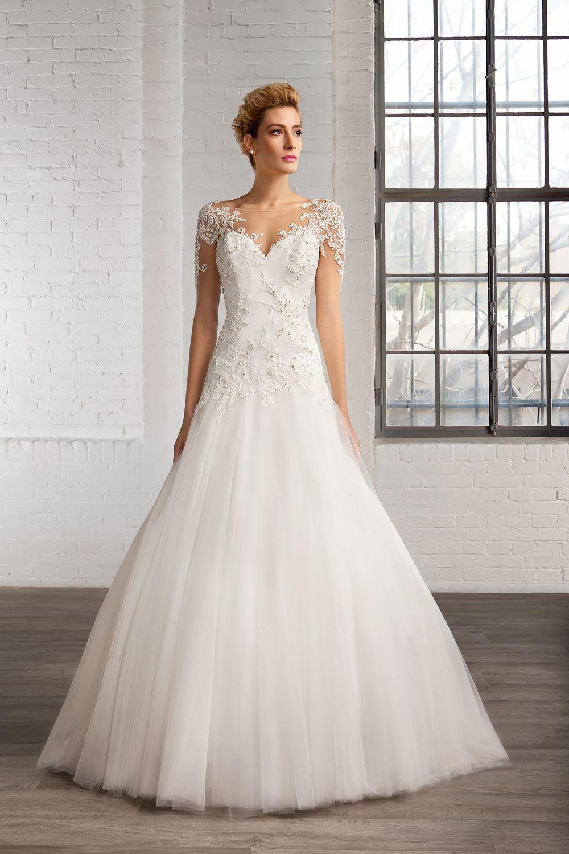 Vestidos para novia - Los más románticos del 2016