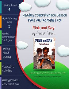 This Lesson Plan Activity Package For Pink And Say Comes Complete