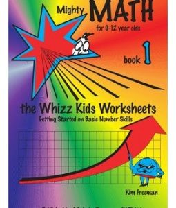 Mighty Math 1 The Whizz Kids Worksheets 9 12 Year Olds Teaching Mathematics Worksheets For Kids Math Books