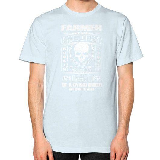 Farmer hardest Unisex T-Shirt (on man)