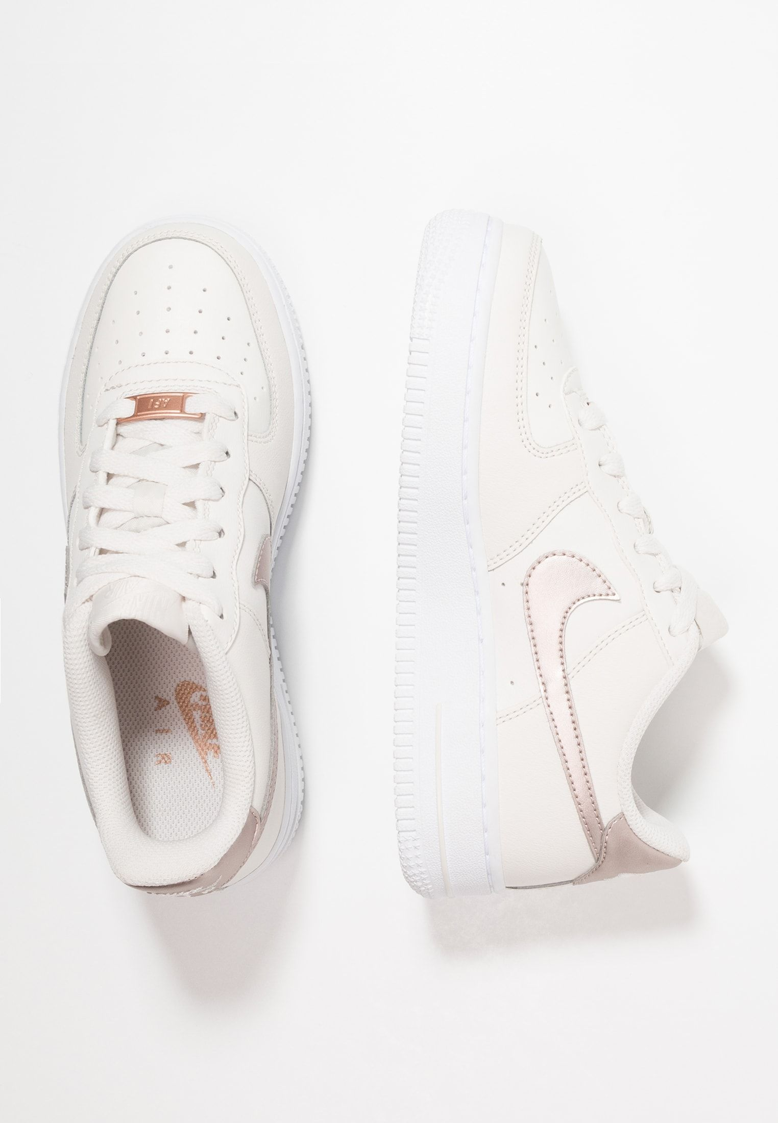 Nike Sportswear Air Force 1 Gs Sneakers Laag Phantom Metallic Red Bronze White Zalando Nl Zalando Schuhe Wolle Kaufen