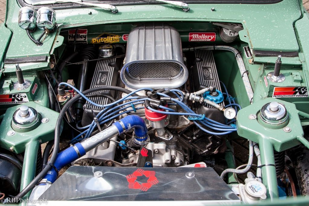 Pro street 100E Anglia Ford anglia, Tube chassis, Cars