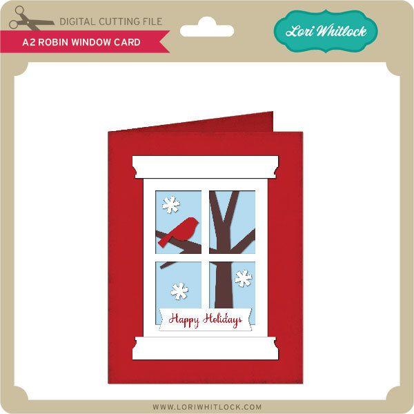 Download A2 Robin Window Card   Window cards, Cards, Robin