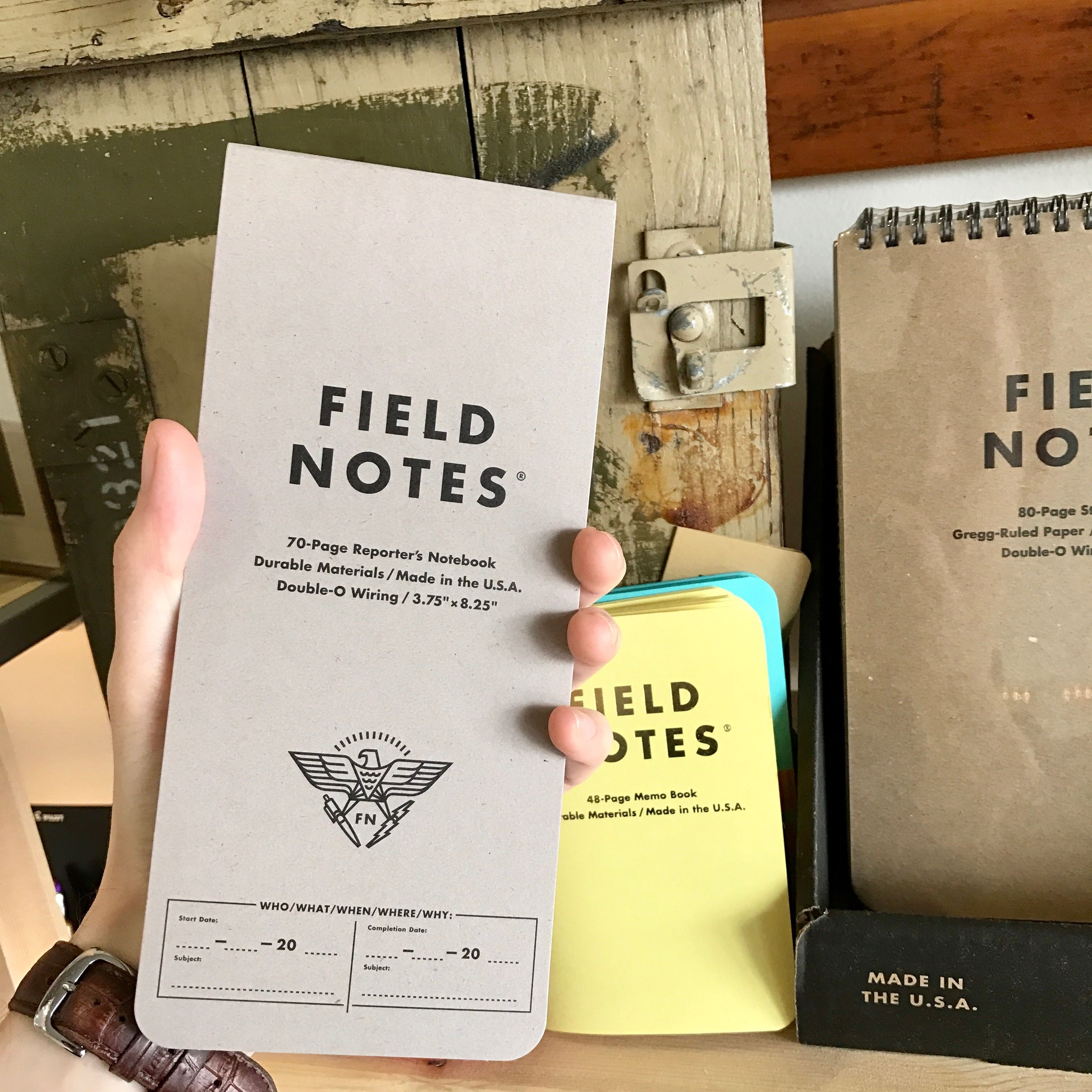 Field Notes Reporter Notebook Is Sized Perfectly For Your
