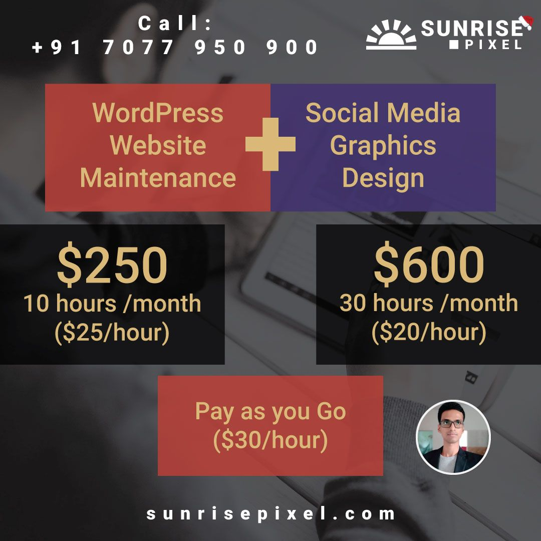 Sunrise Pixel Website Design Social Media Design Graphics Professional Website Design Social Media Graphics
