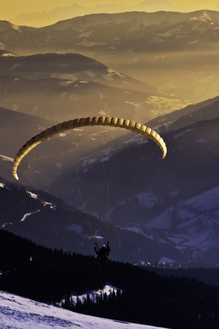 *Hang Gliding (by Paul Lapinski)