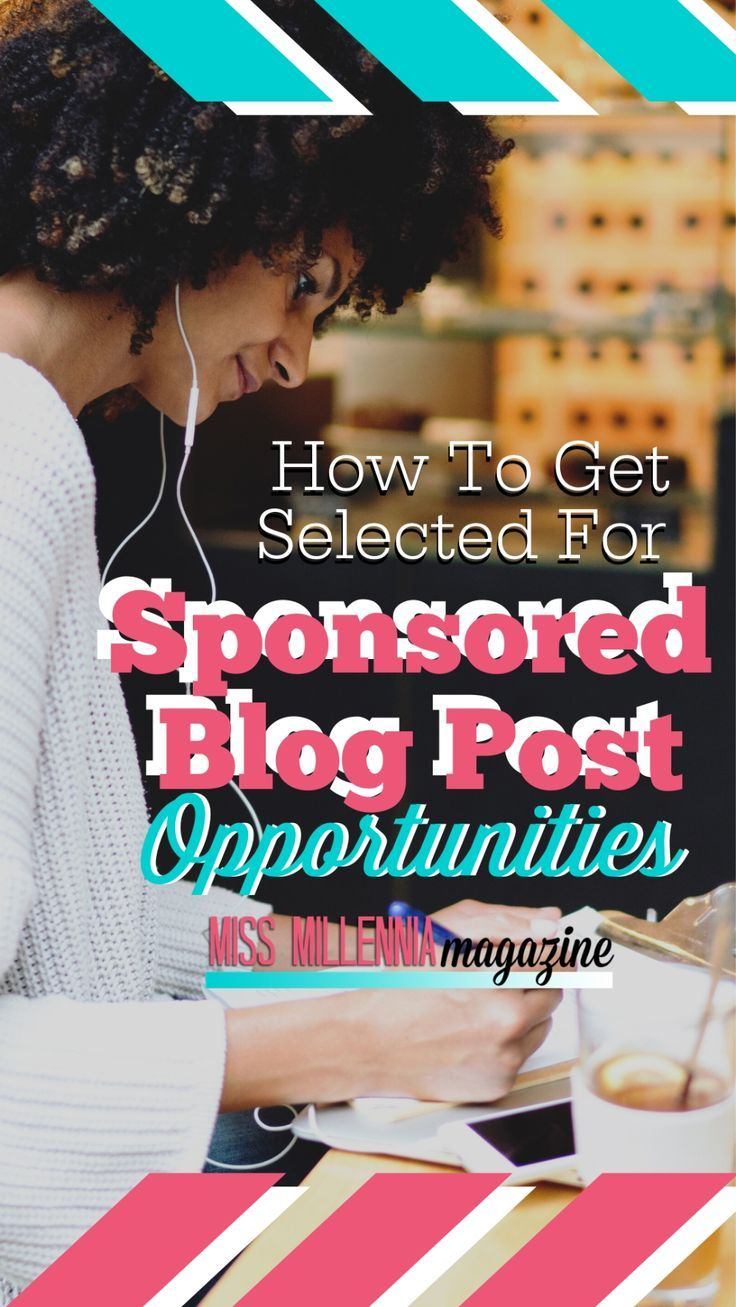 I'm happy to say that after much trial and error, I found a way to finally get selected for more sponsored blog post opportunities.