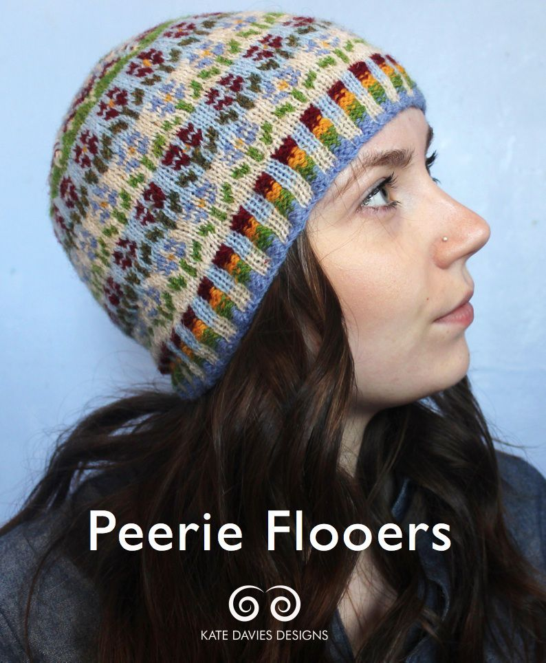 colourwork and crown decreases « Kate Davies Designs | Knit One ...