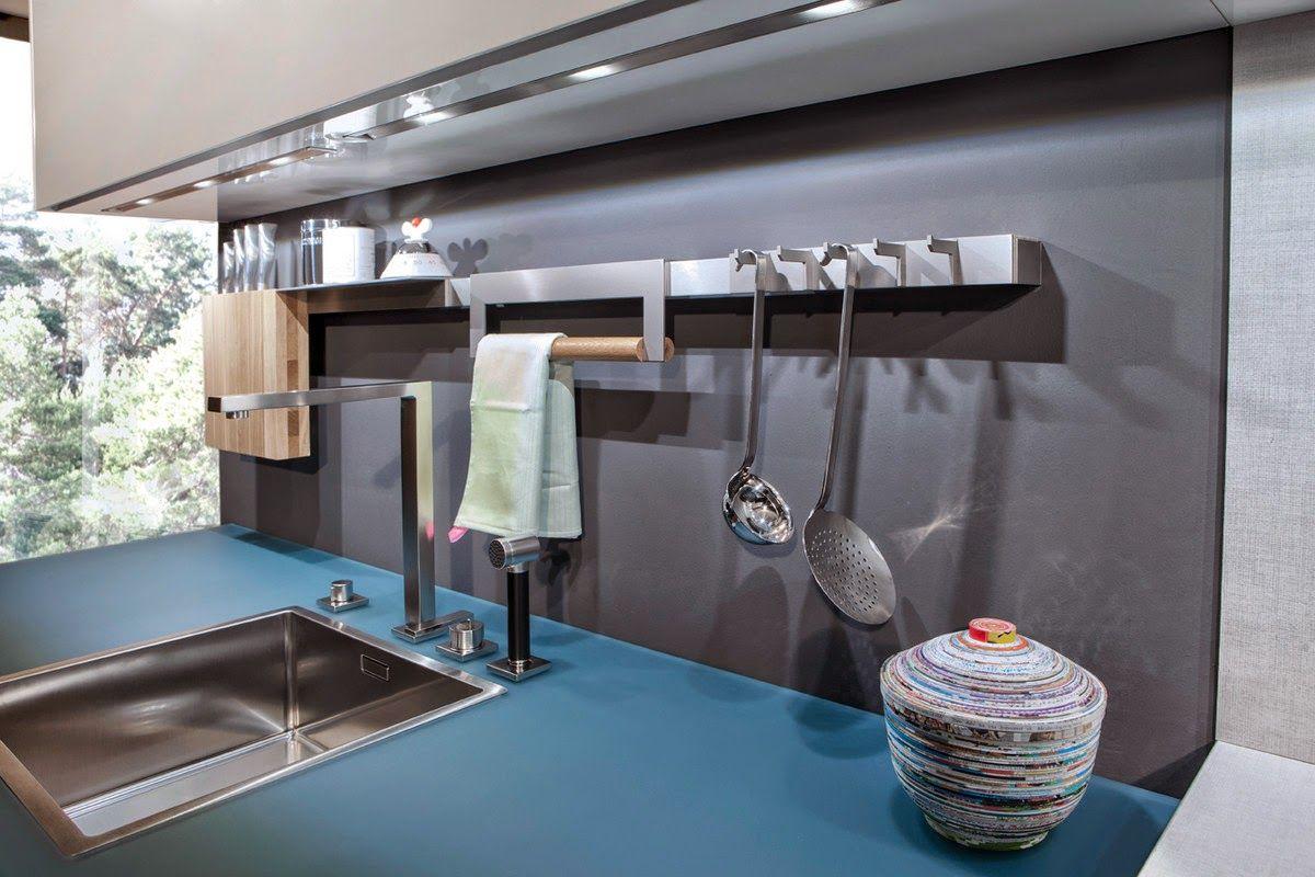Accesorios De Cocina Para La Pared Cocinas Con Estilo Deco  ~ Accesorios Interior Armarios Cocina