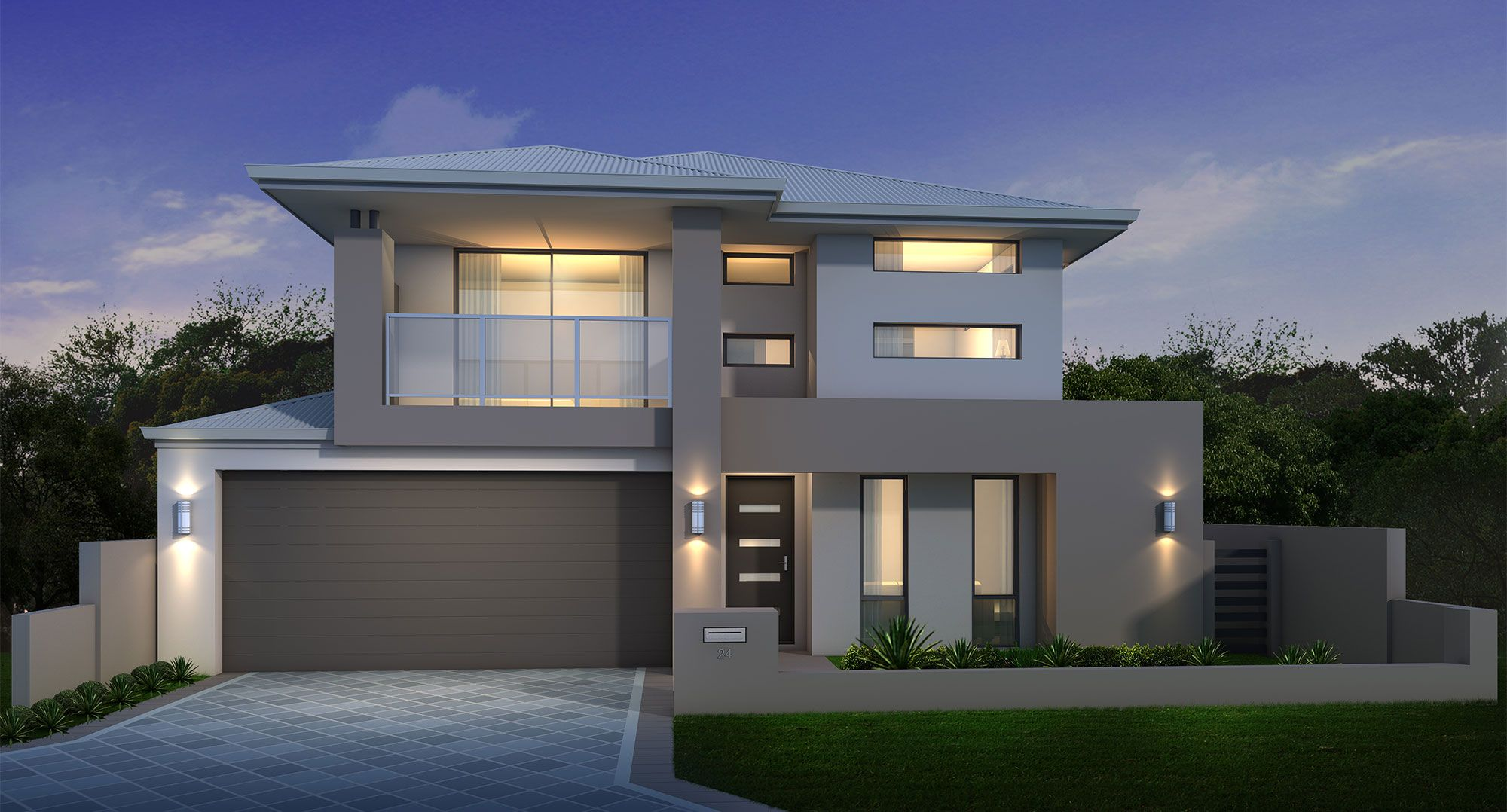 Two Storey Home Builders Mandurah Perth Facade House