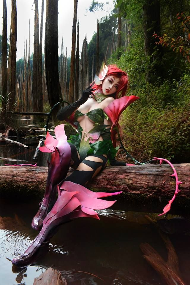 League of Legends,Лига Легенд,фэндомы,Zyra,cosplay,LoL Cosplay