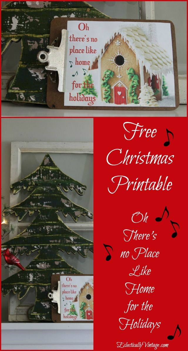Free Christmas Ideas Crafts Part - 18: Free Christmas Gingerbread House Printable