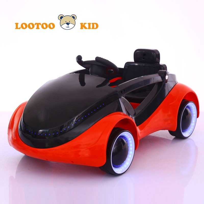 new design led light music battery operated ride on toys kids automatic car mini