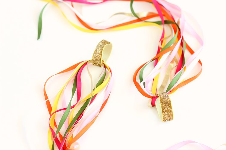 DIY Dancing Ribbon Rings