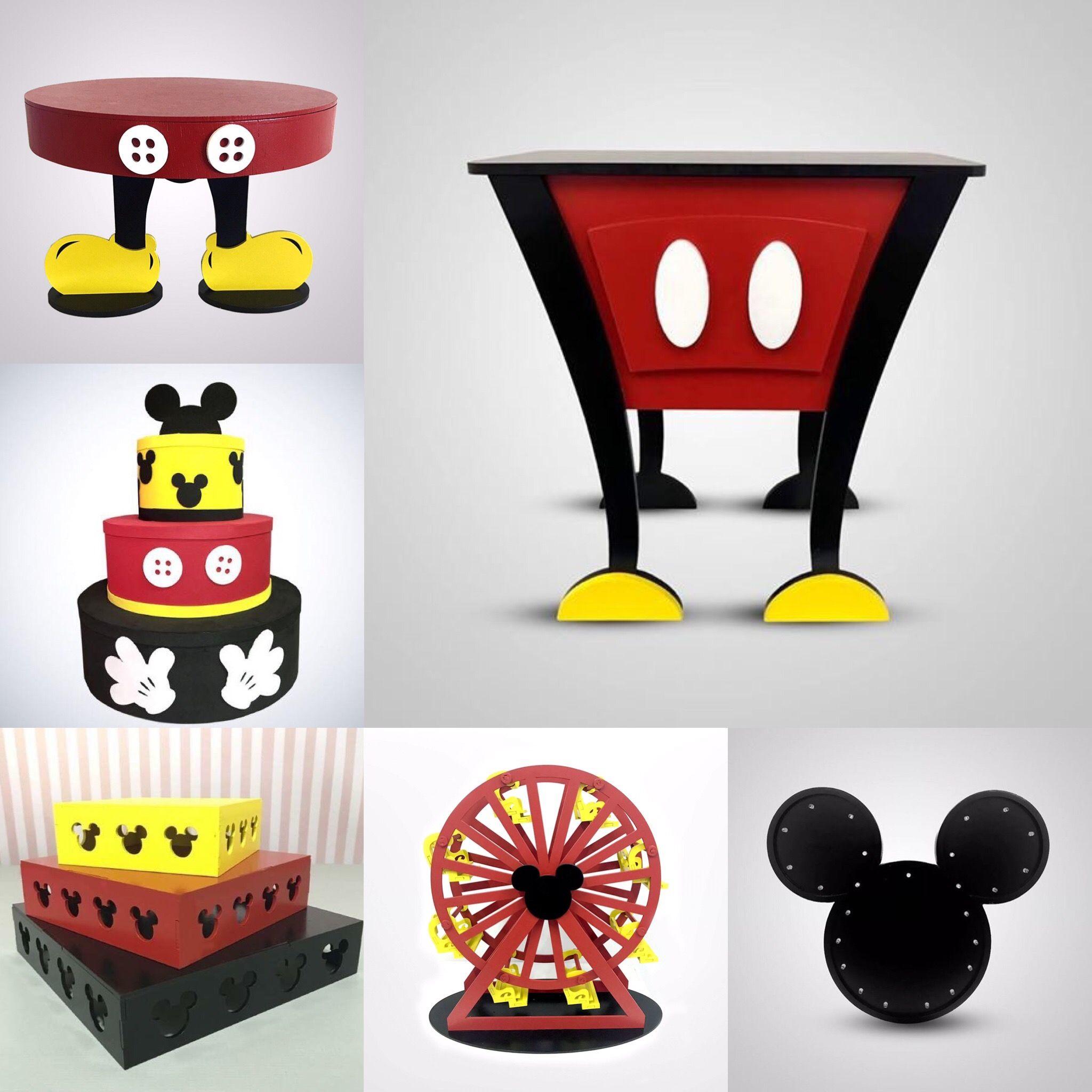 4dc4bcda6 Festa Mickey Aniversário Do Mickey Mouse, Decoração Mickey, Decoração Festa  Mickey, Artigos Para