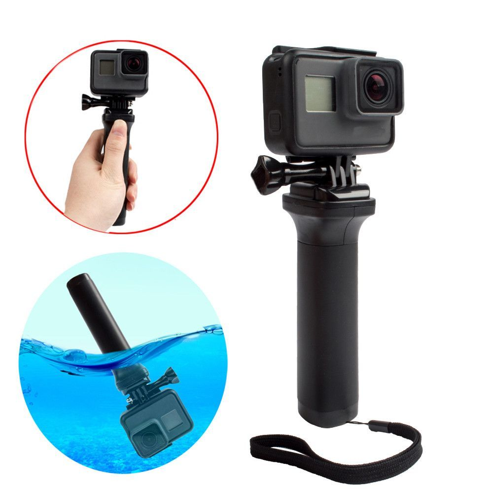 Easttowest Non Slip Floating Hand Grip Black Handle Selfie Accessories For Camera Gopro Hero 5 4 3 Session Yi 4k Sj4000 Gopro Hero Gopro Hero 5 Gopro