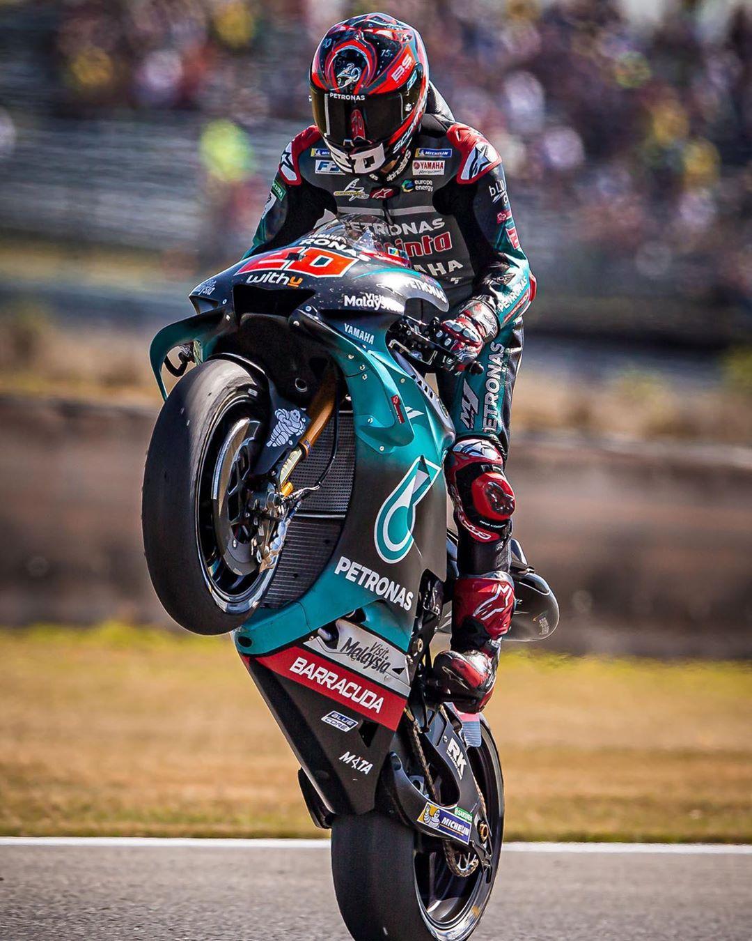 Fabio Quartararo On Instagram In 2020 Racing Motorcycles Racing Bikes Supermoto