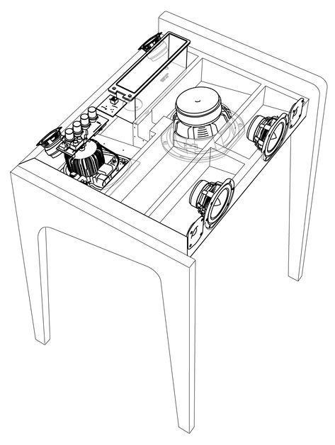 12 Inch Speaker Box