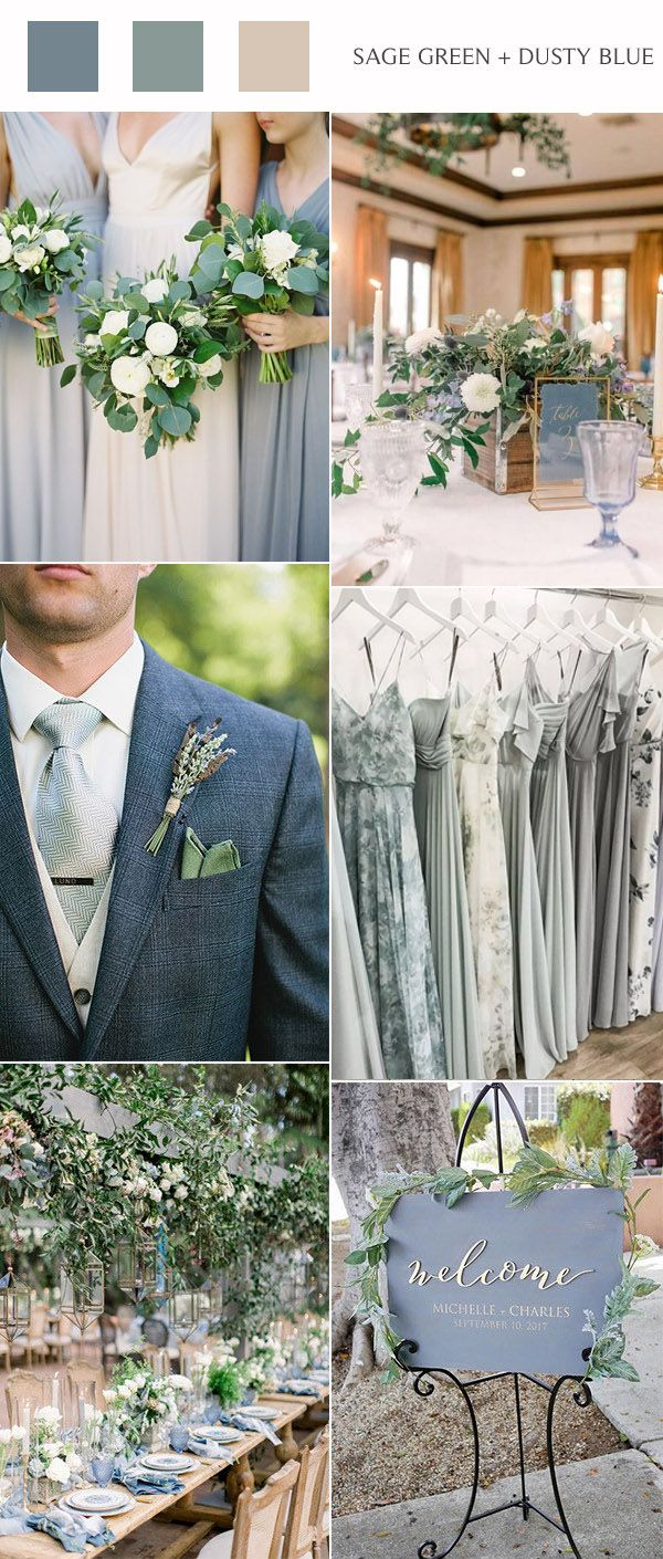 TOP 10 Fall Wedding Color Ideas For 2020