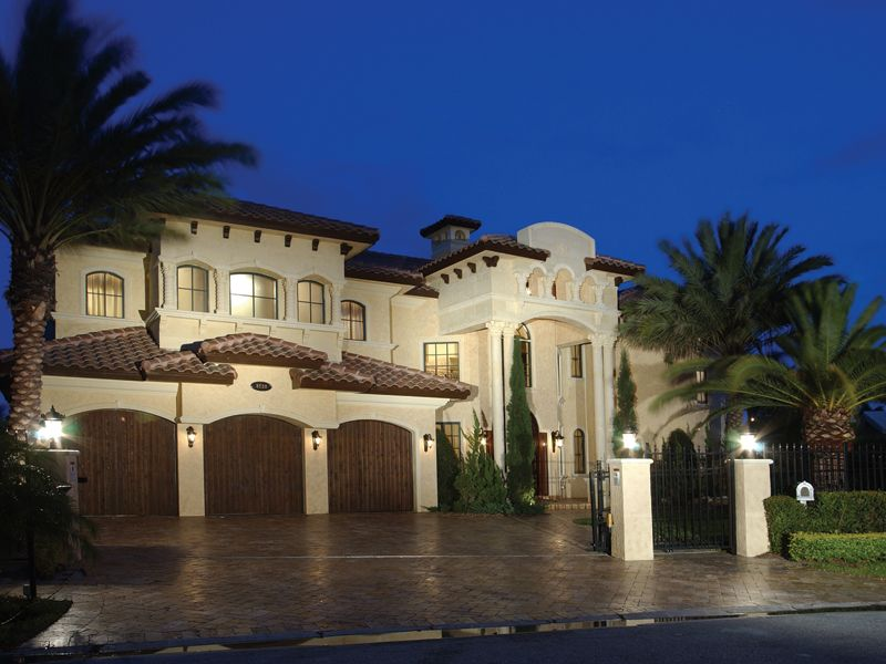 painters hill luxury home | luxury house plans, florida houses and