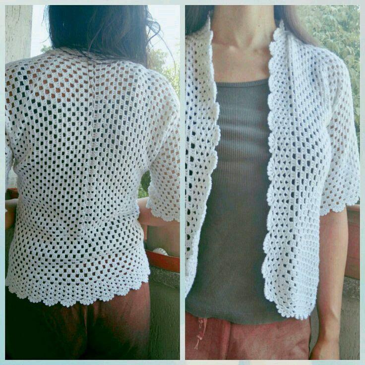 #crochet #crochetting #knit #winter #yelek #jacket #easy