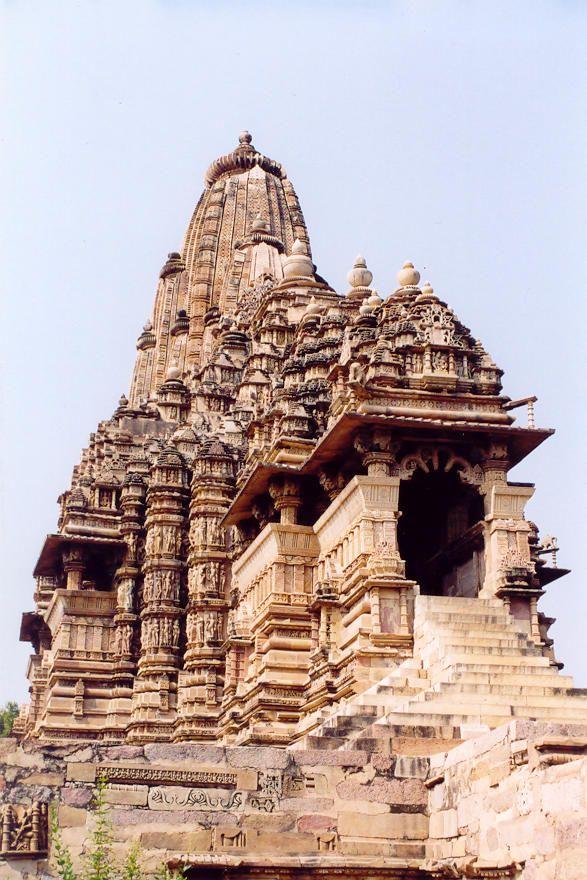 KHAJURAHO GROUP OF MONUMENTS: KANDARIYA MAHADEVA TEMPLE • 11th c. • Madhya Pradesh, India • http://whc.unesco.org/en/list/240