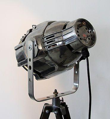 Good Tripod Holz Stativ Steh Lampe B hnen Scheinwerfer Film Industrie Design Loft