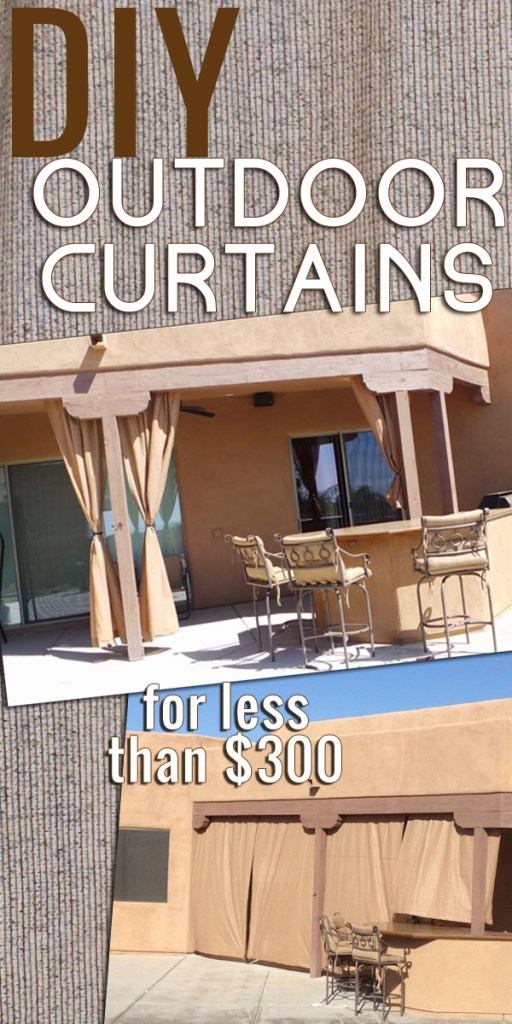 DIY Outdoor Curtains A How To