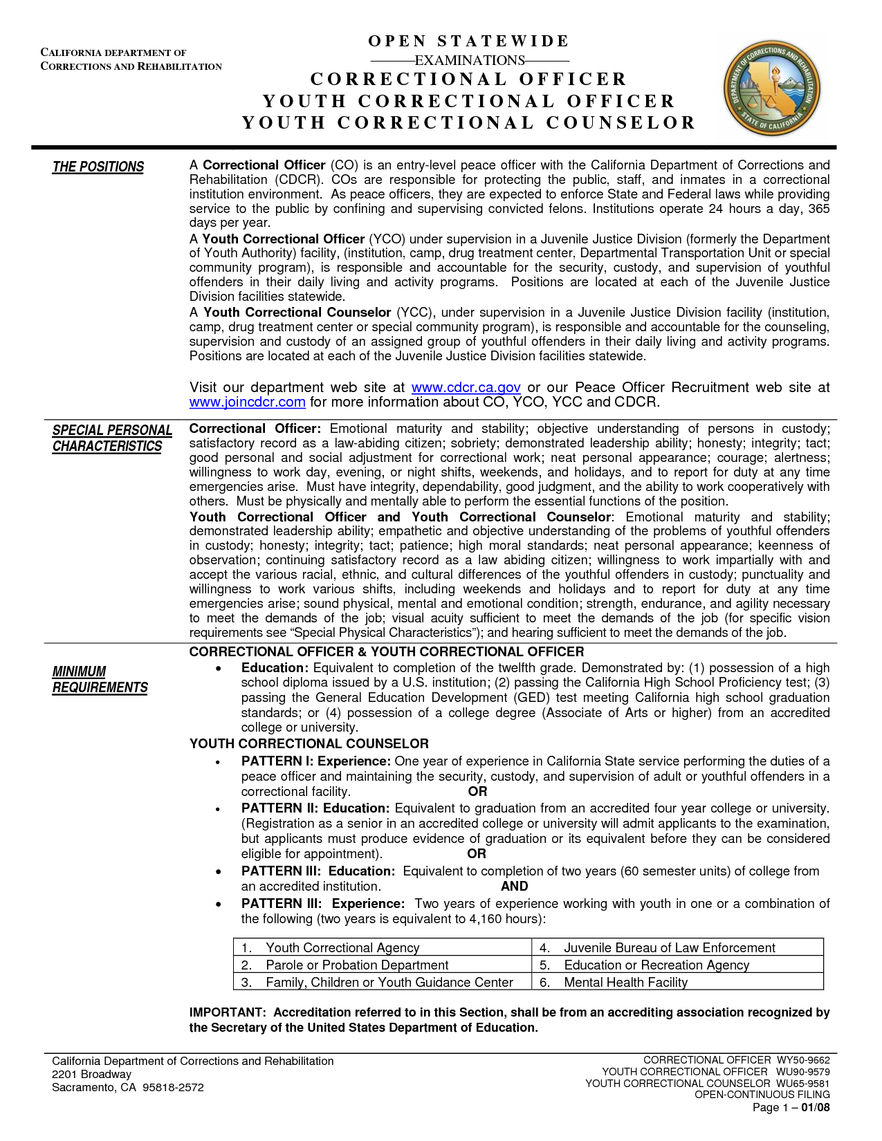 Juvenile Detention Officer Resume Example  HttpWww