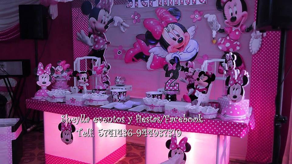 decoracin minnie mouse coqueta limaper correo y fiestas