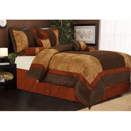 Sybil 7Piece Bedding Comforter Set Bedding Walmartcom