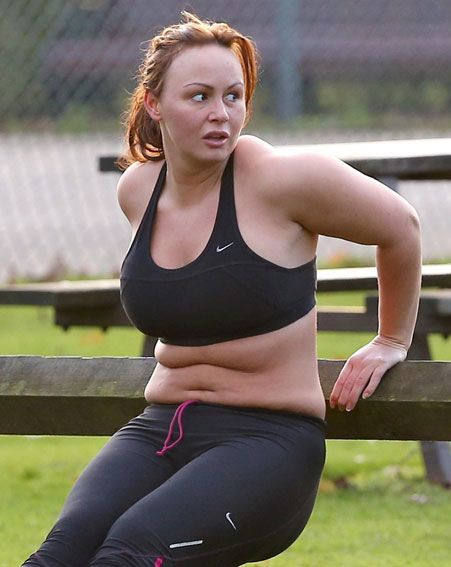 Chanelle Hayes Is Hoping To Lose 3 5 Stone Flynet And The Former