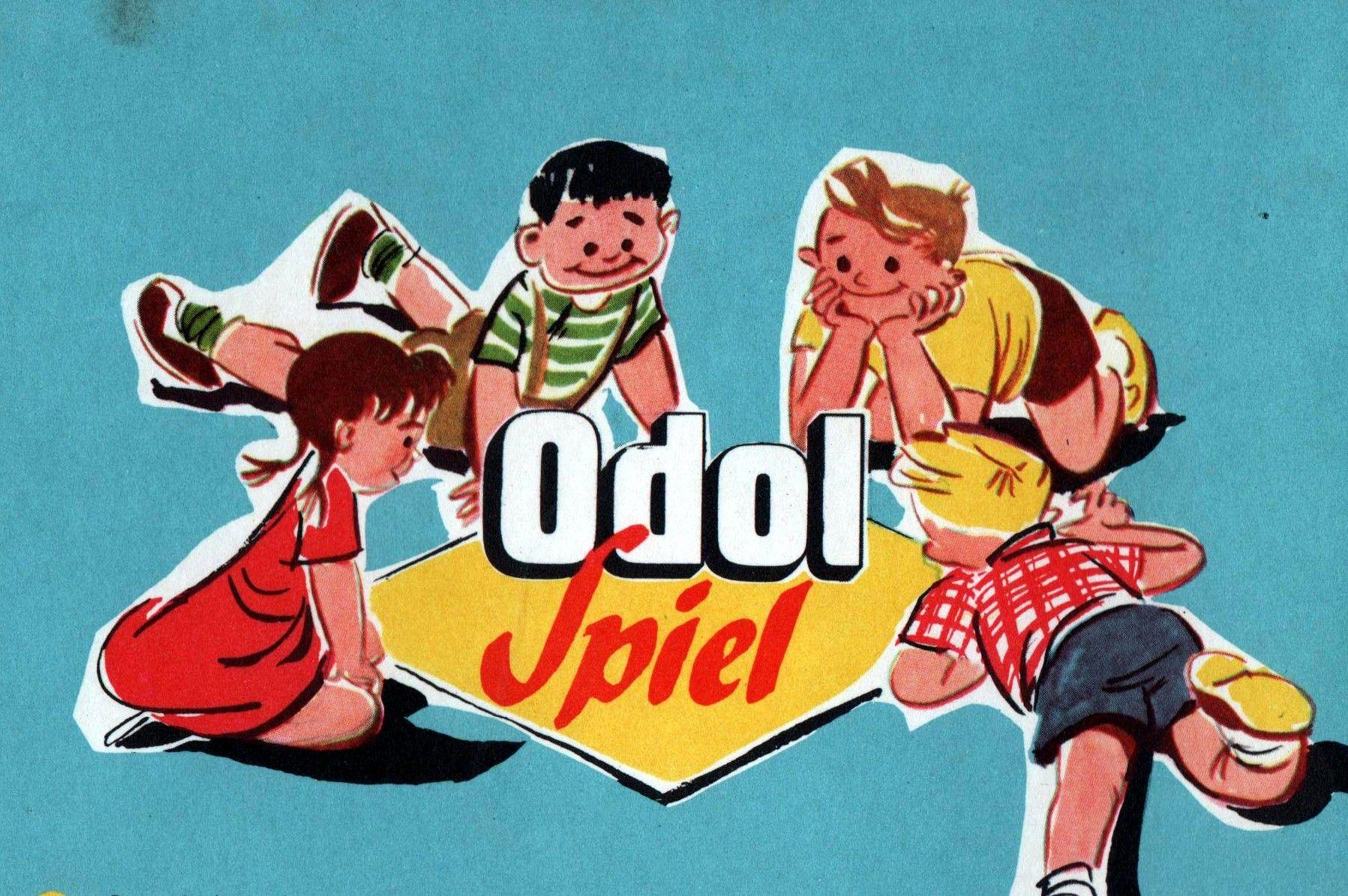 OdolSpiel Vintage advertisements, Old ads, Board games