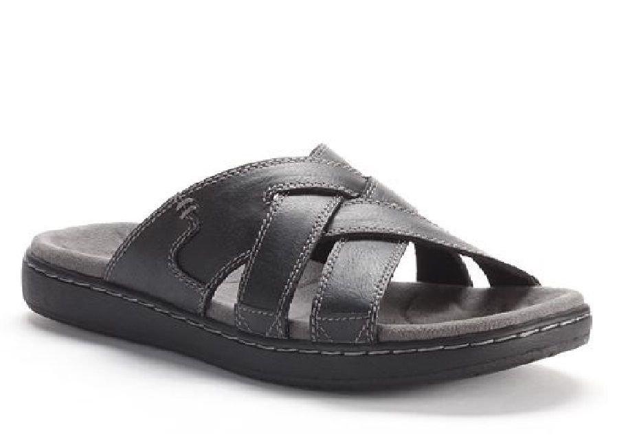info for 038ce 8bc18 SONOMA mens Slide in sandals black size 9, 12 NEW 29.99 http