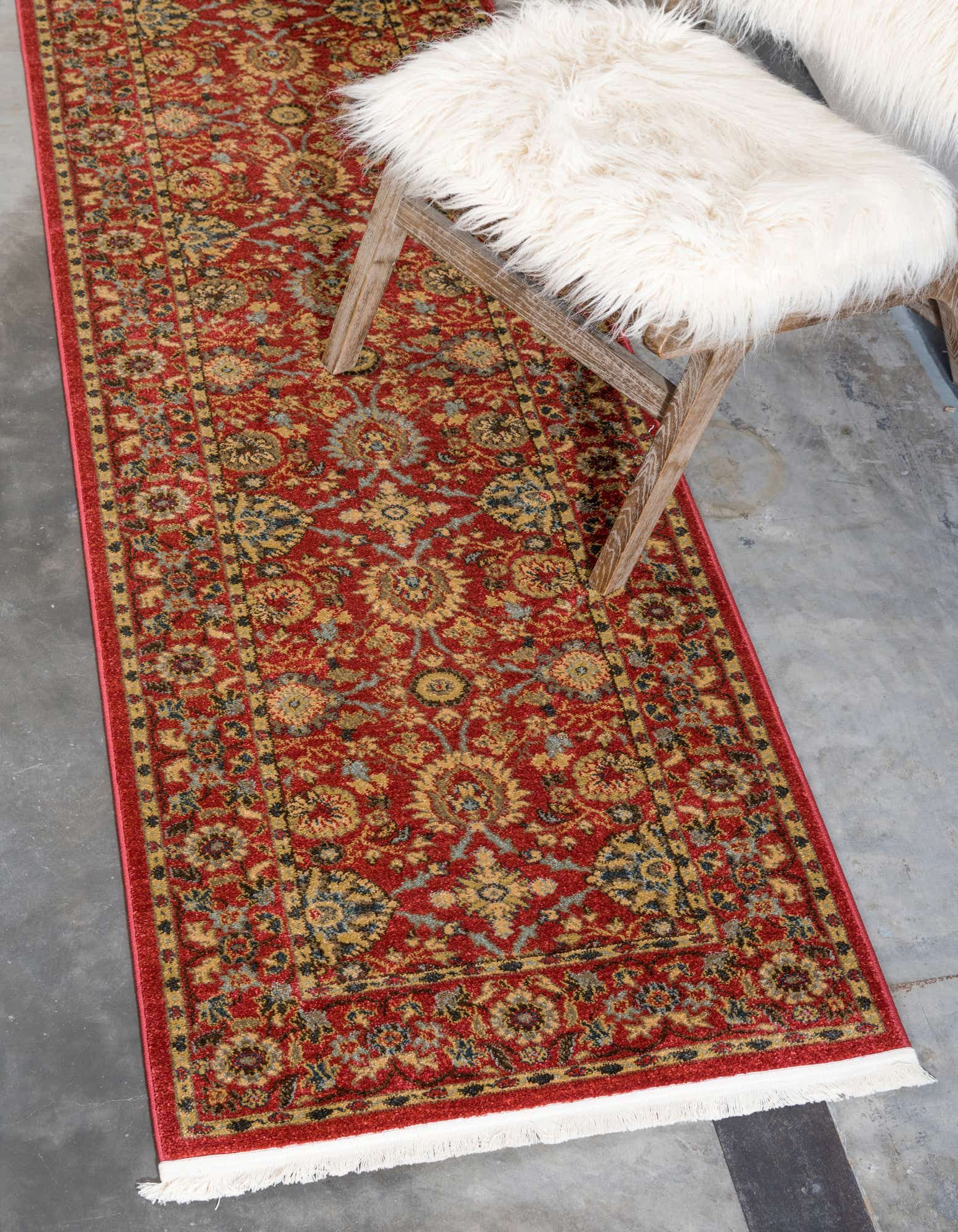 Red 2 7 X 10 Edinburgh Runner Rug Unique Loom Red Runner Rug Red Carpet Runner Area Rugs