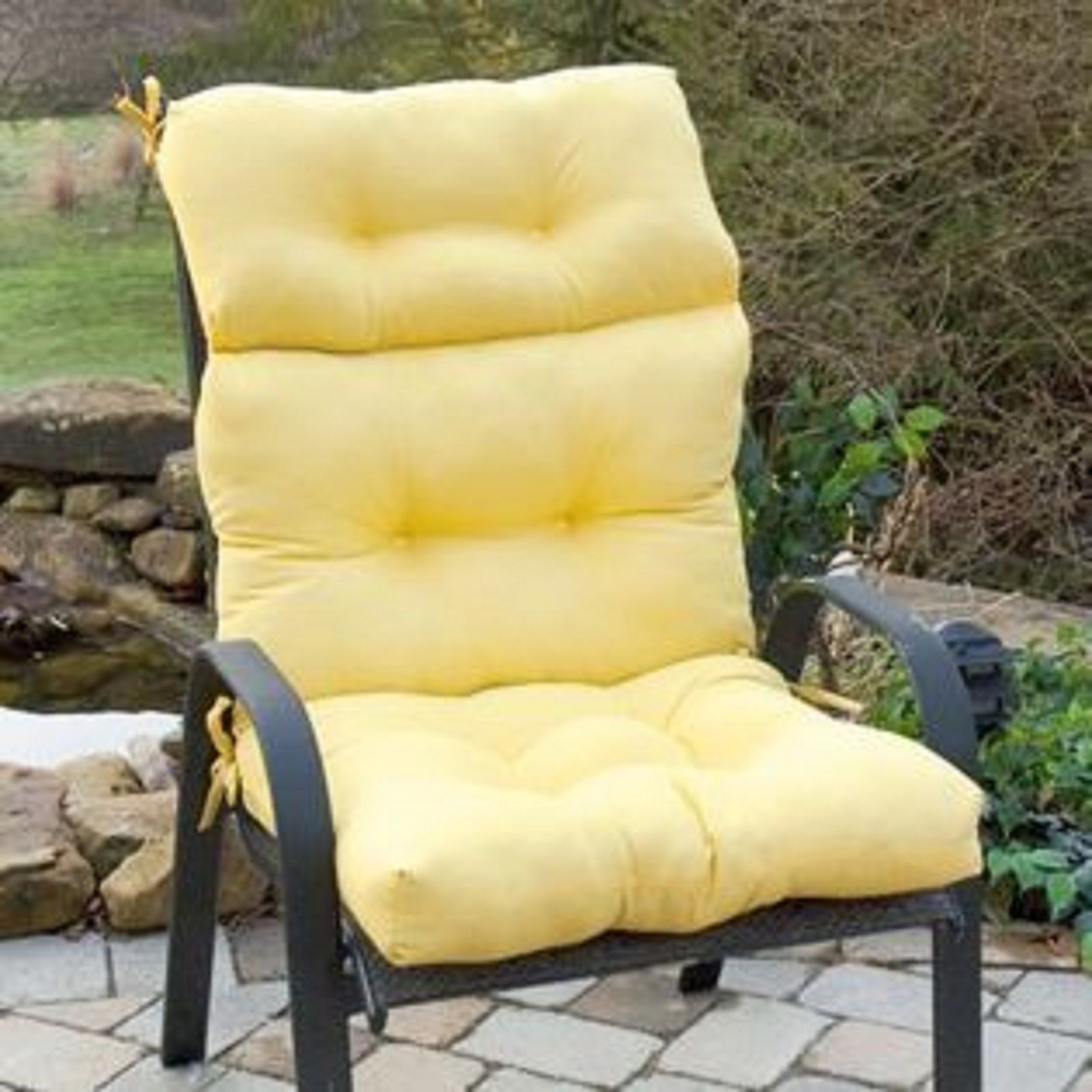 High Back Patio Chair Cushions For Comfortable Relaxation