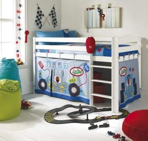 Letto A Castello Con Tenda.Ideas For Children S Room Kid S Room Tende Letto A Castello