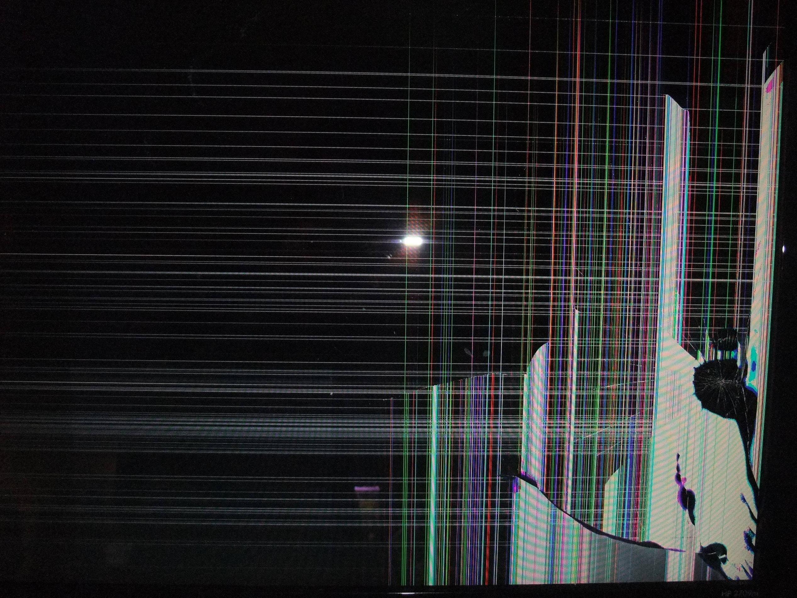 2534 X 1901 , Broken Lcd Wallpaper