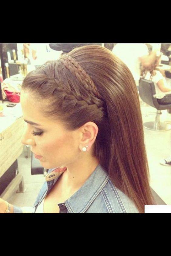 Peinados Modernos Peinado Hair Tutorials Com En 2020 Peinados Con Cabello Suelto Peinados Cabello Lacio Peinados Con Trenzas