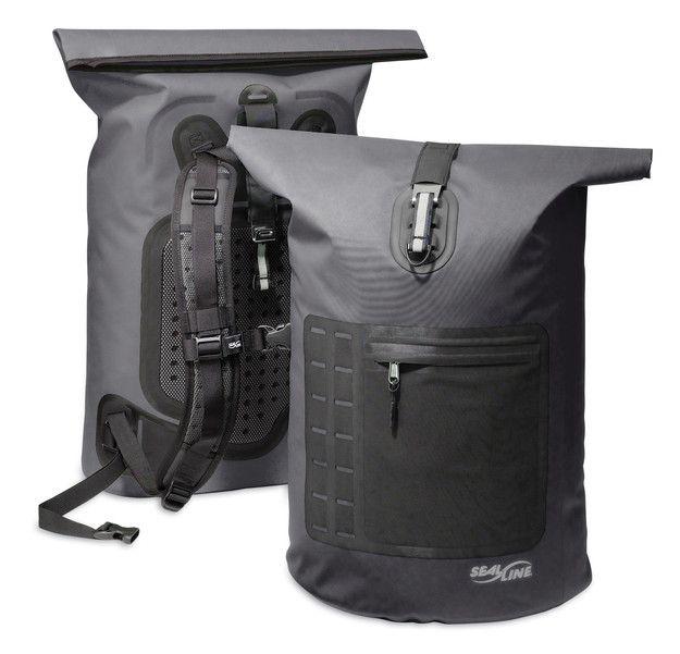 Products We Like Backpack Black Rugged Sea Line Waterproof Outdoor