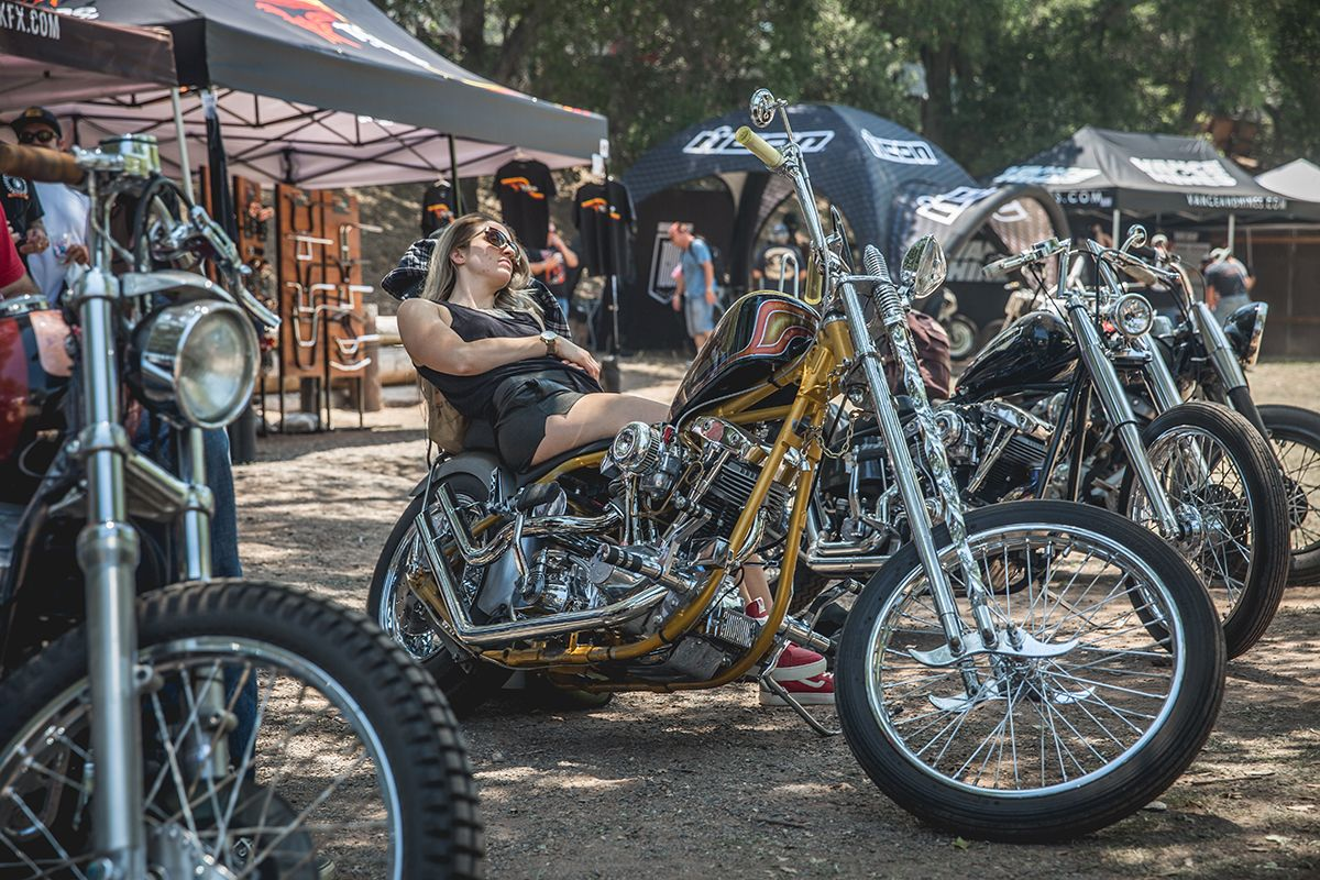 Lowbrow Customs At Born Free 8 | motorcycles | Hot bikes