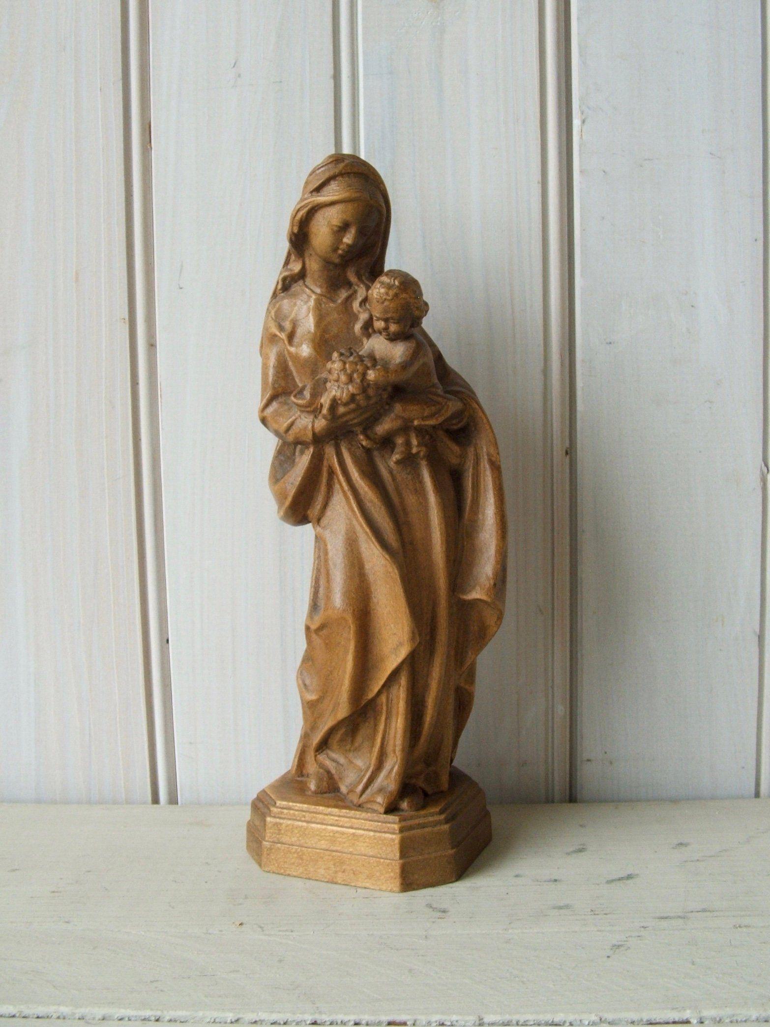 Irish Mary and Jesus Figurine