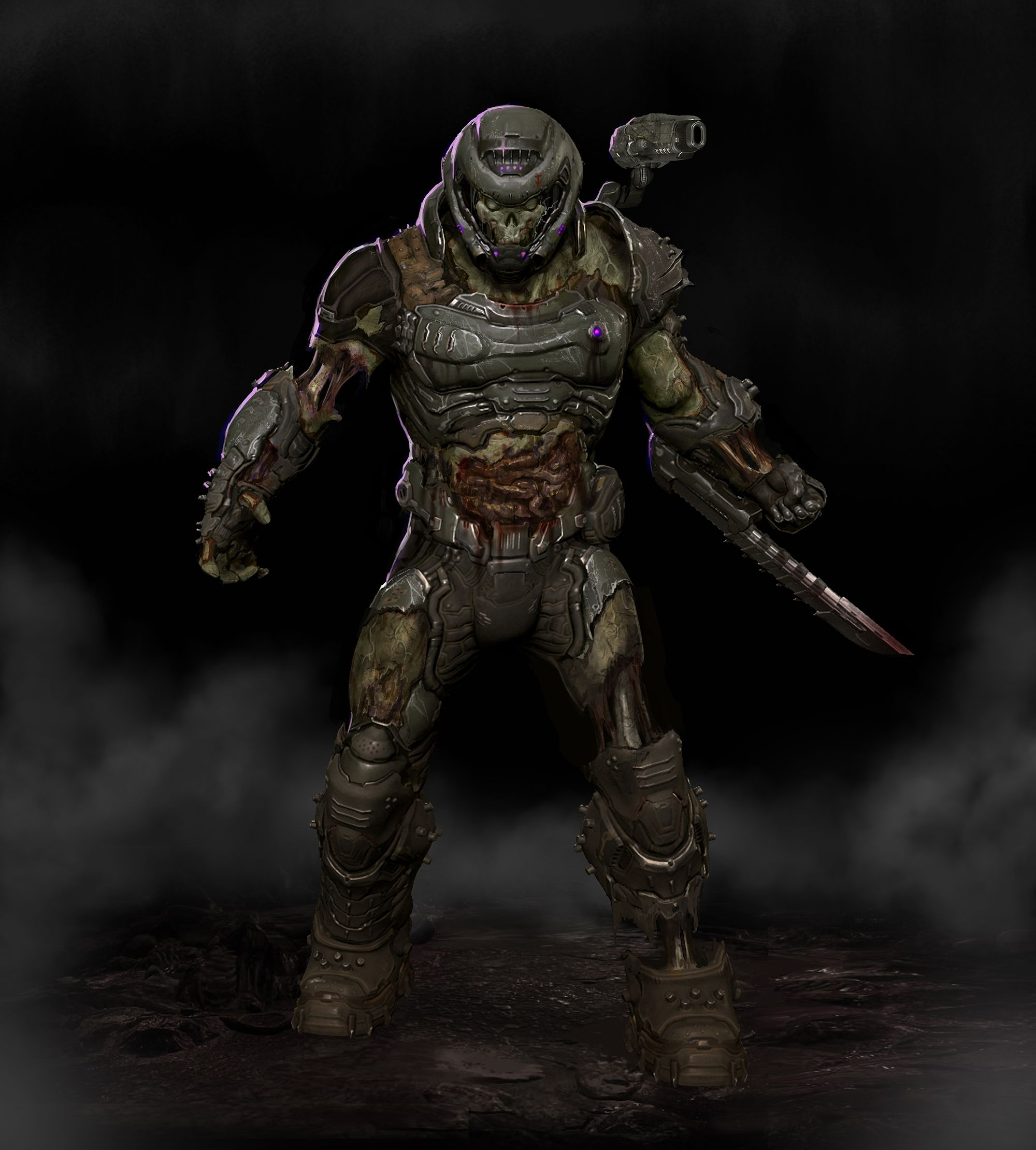Join The Slayers Clud And Get This Skin Wen Doom Eternal Comes Out